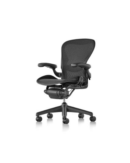 Herman Miller Aeron Chair Adjustable Lumbar Support  sc 1 st  Office Chair @ Work & Herman Miller Aeron Chair Size B All Features Fully Adjustable ...