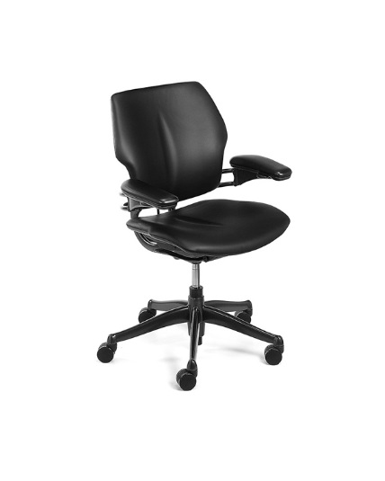 Humanscale Freedom Chair Leather Fully Adjustable