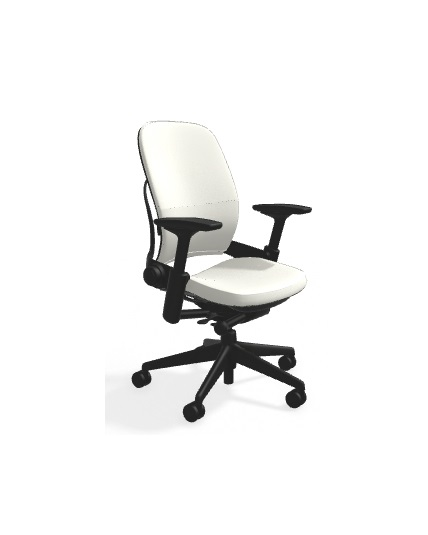Marvelous Steelcase Leap Chair White Leather All Features 4 Way Adjustable Arms Adjustable Lumbar Support V2 Ibusinesslaw Wood Chair Design Ideas Ibusinesslaworg