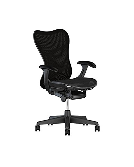 herman miller mirra chair fully adjustable arms tilt limiter and