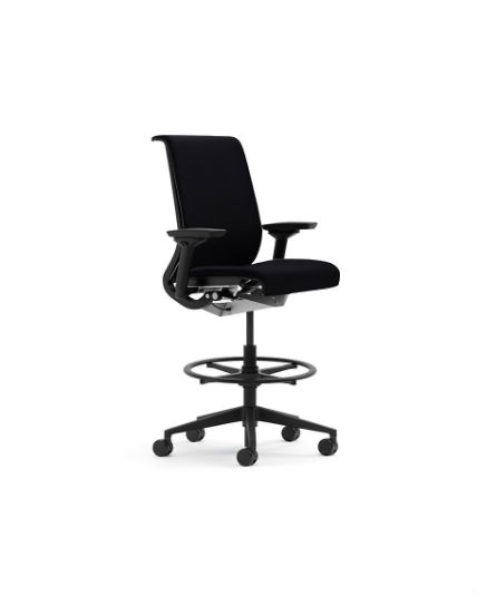 Steelcase Think Stool All Features 4 Way Adjustable Arms