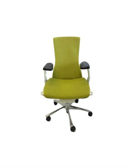 Herman Miller Embody Chair Green All Features Polished