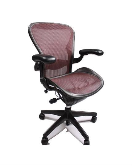 Herman Miller Aeron Chair Burgundy Purple Size C All