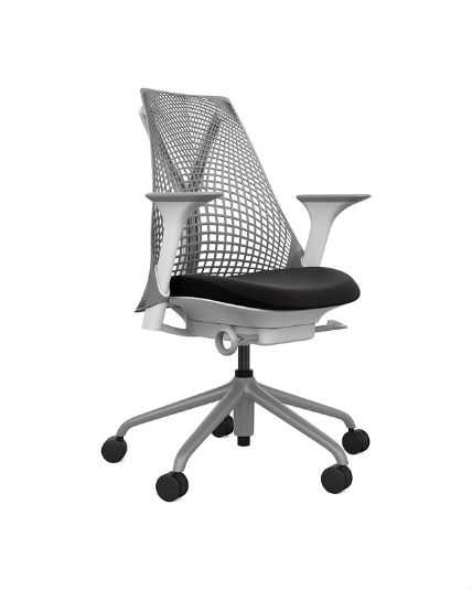 Remarkable Herman Miller Sayl Chair Gray White Black Adjustable Arms Ocoug Best Dining Table And Chair Ideas Images Ocougorg