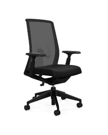 haworth very chair highly adjustable adjustable arms adjustable lumbar support office chair. Black Bedroom Furniture Sets. Home Design Ideas