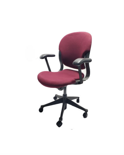 Herman Miller Equa Chair Size B Red Adjustable Office