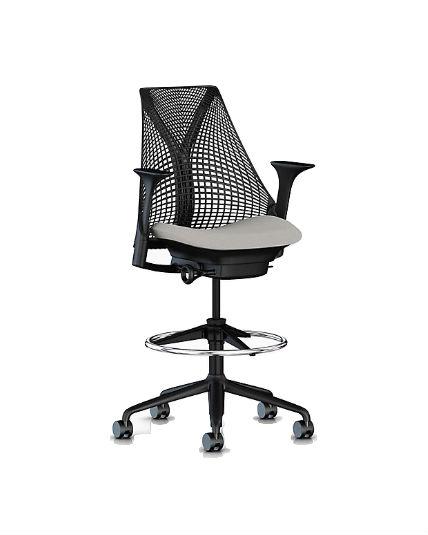 Herman Miller Sayl Stool Adjustable Office Chair Work