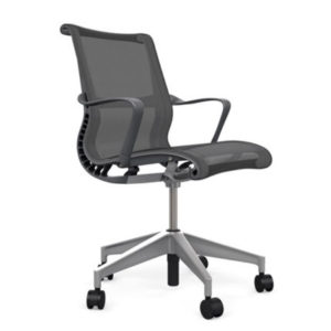 Teknion Nuova Contessa Chair All Features 4 Way Arms