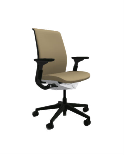 Steelcase Think Chair Gold All Features 4 Way Arms