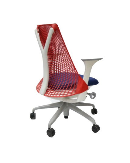 Miraculous Herman Miller Sayl Chair Red White Blue Adjustable Pdpeps Interior Chair Design Pdpepsorg