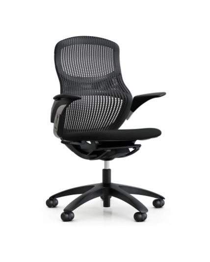 Knoll Generation Chair Adjustable Arms Office Chair Work