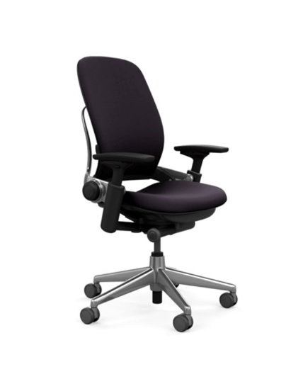 Steelcase Leap Chair Leather All Features Polished