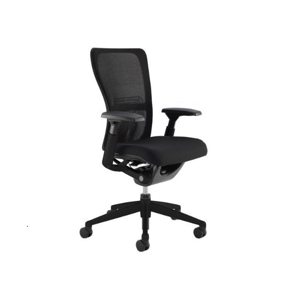 Haworth Zody Chair Black Leather All Features